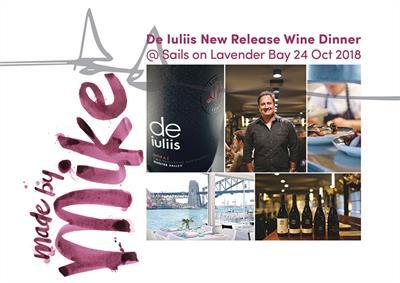 De Iuliis Wine Dinner 2018 – Sails on Lavender Bay